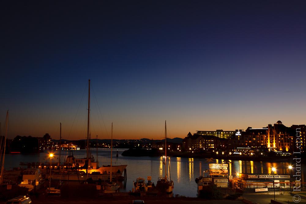 Victoria at night
