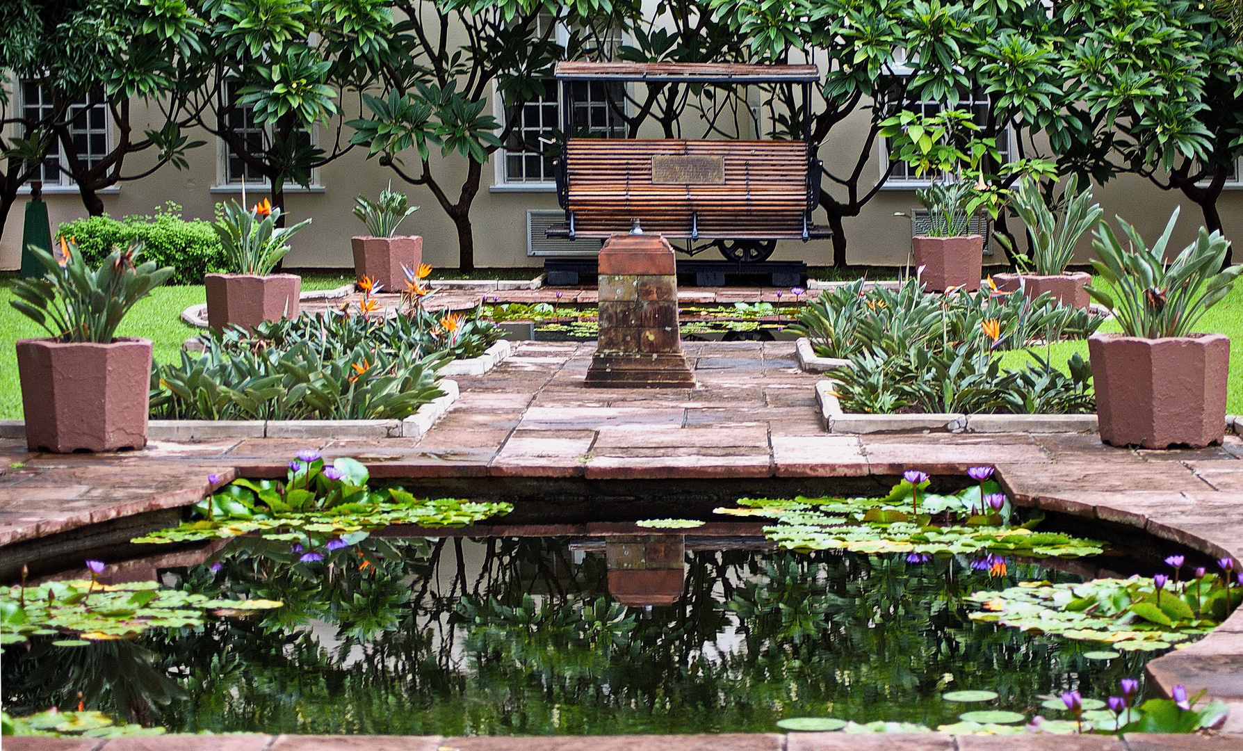 Victoria Falls Hotel - Garten