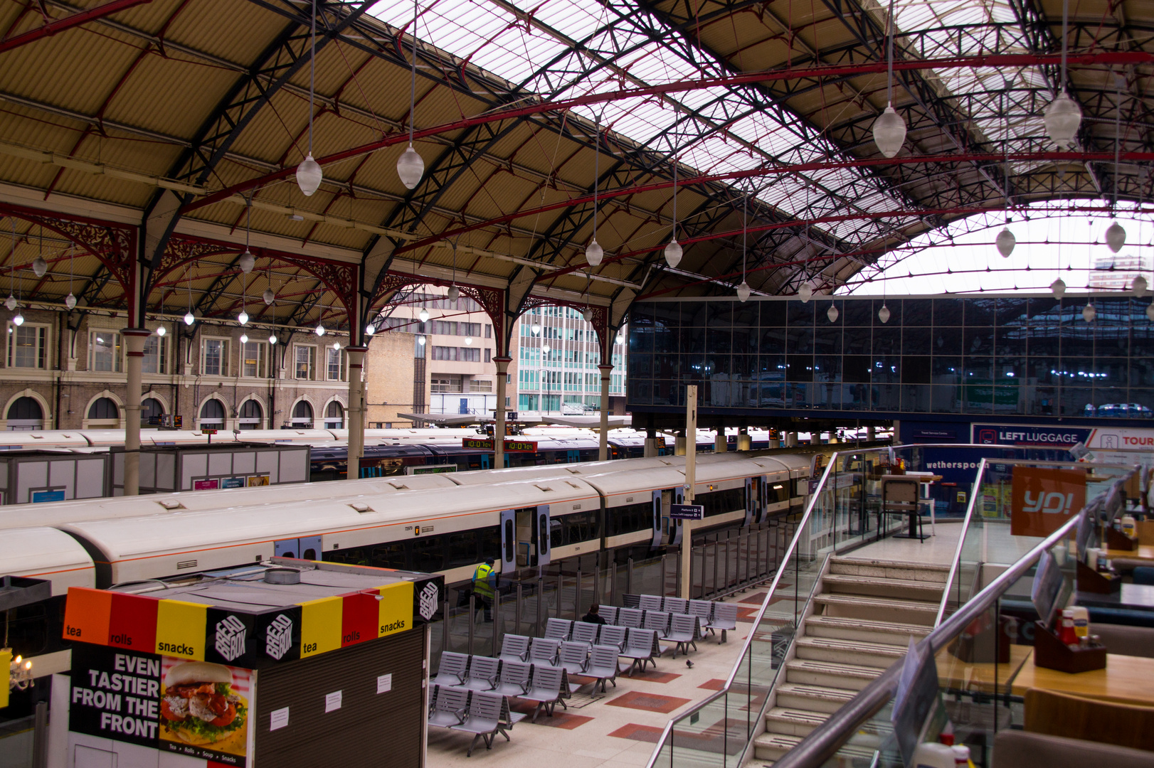 Victoria Station Sackbahnhof
