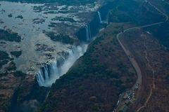 Victoriafälle von oben - Simbabwe