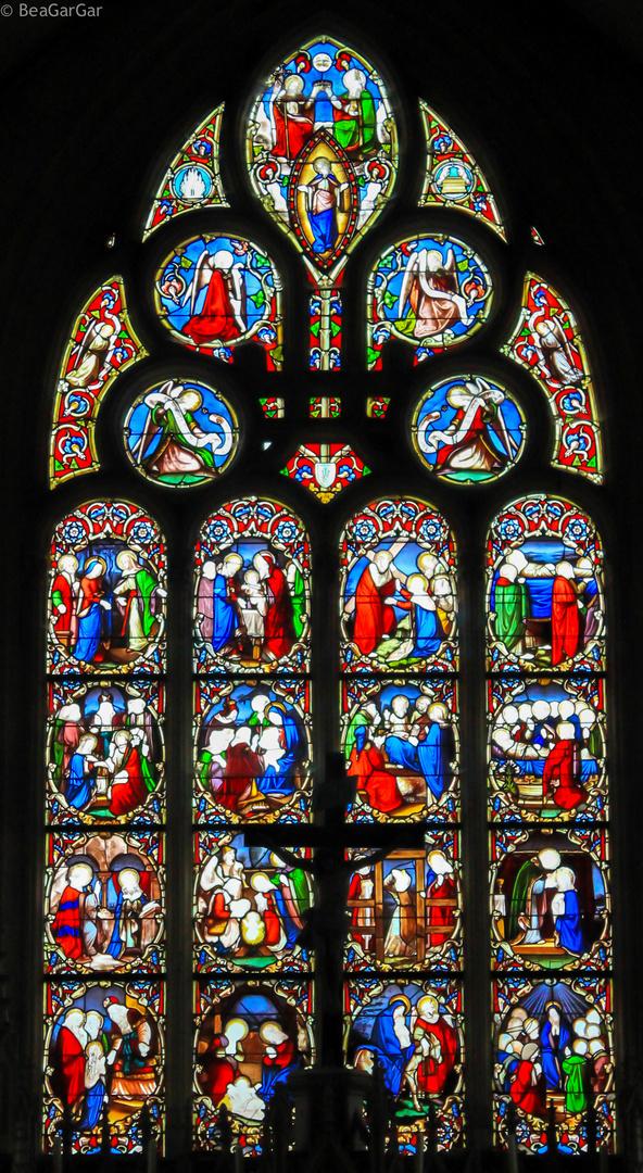 Vidriera Francesa, Saint Marie Du Mont