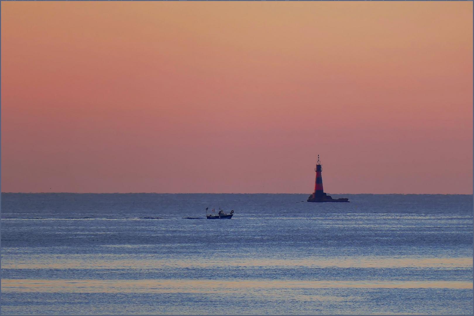 vie maritime au petit matin ....