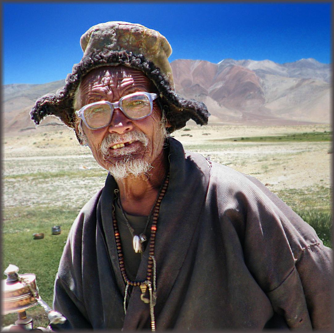 Vieil homme des montagnes, Ladakh