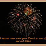 Viel Glück im neuen Jahr !