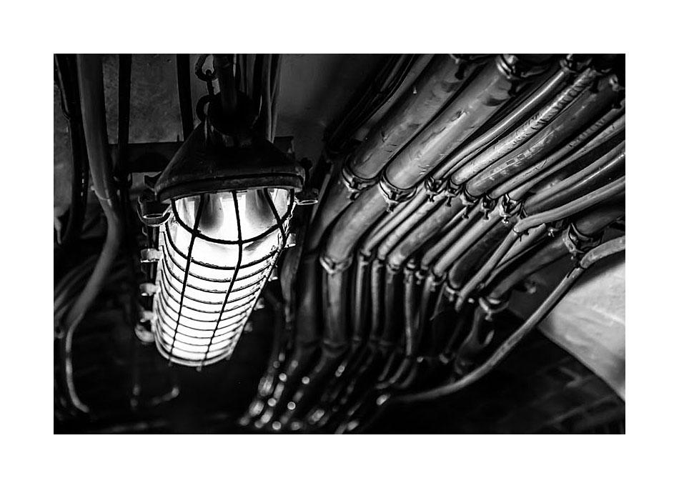 Viel Kabel - wenig Licht