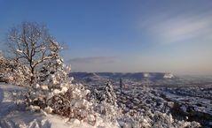 viel Schnee..