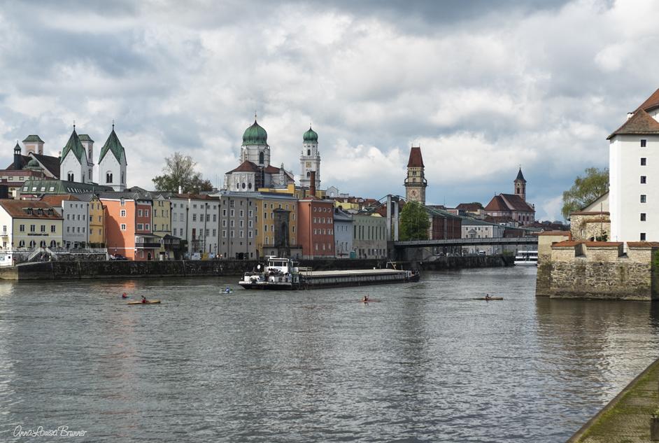 Vielbefahrene Donau..