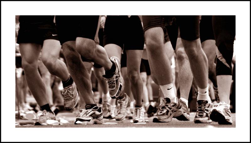 Viele Beine ein Ziel