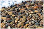 Viele bunte Steine - Nordsee - Dänemark