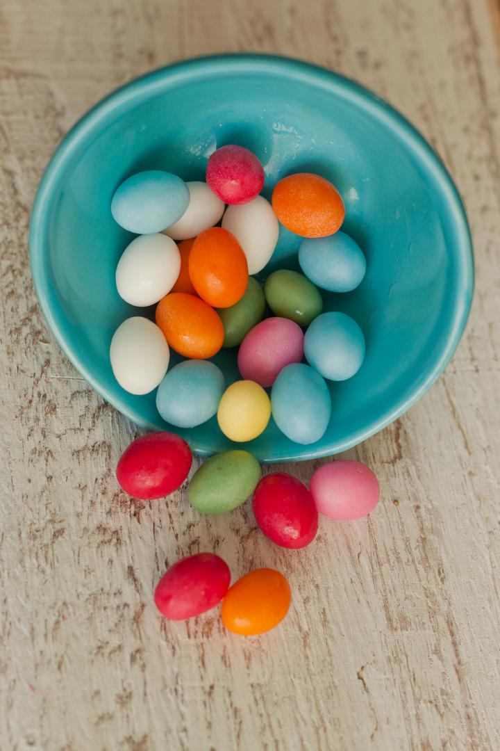 Viele bunte Süßigkeiten