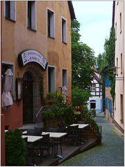 Viele lauschige Ecken gibt es in Schwabach.