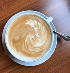 Vielleicht mit Milchkaffee