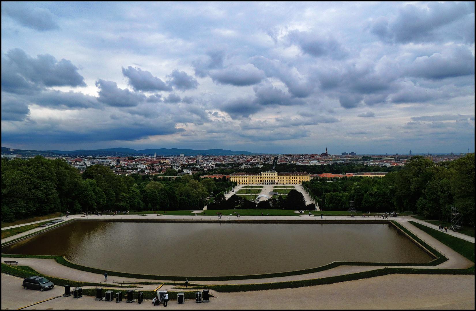 Vienna - Blick von Gloriette