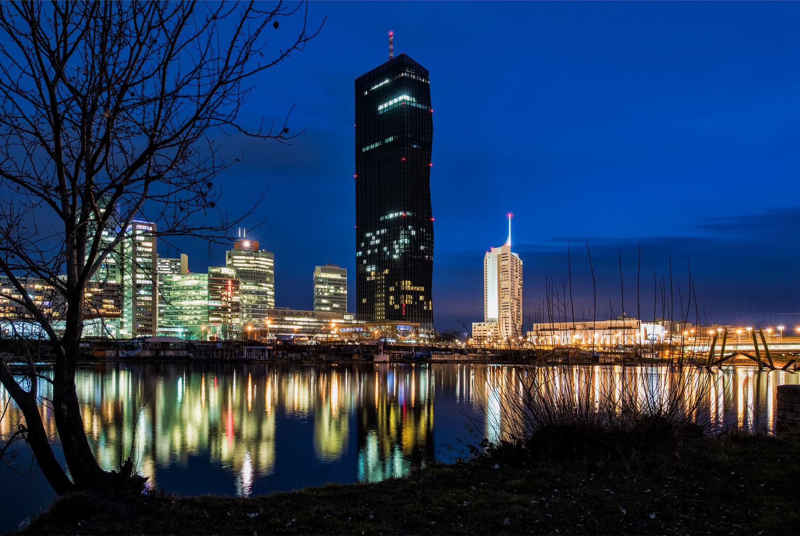 Vienna Donaucity mit DC-Tower