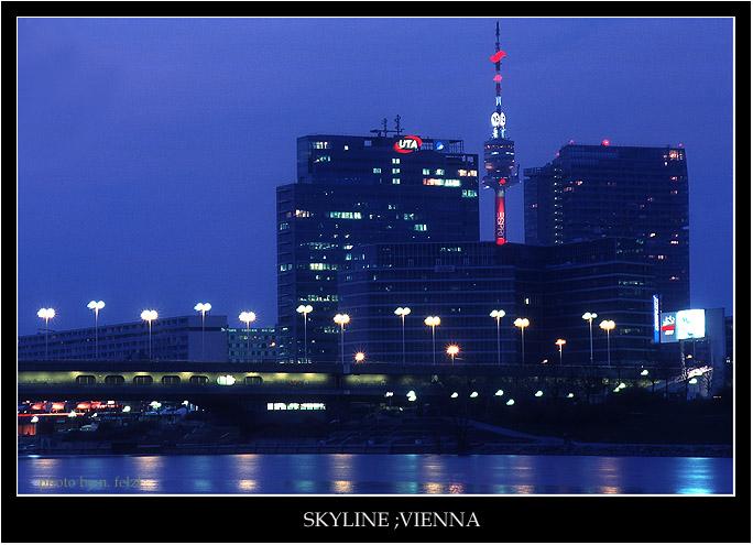 vienna, skyline