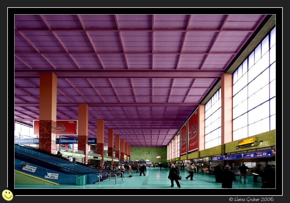 Vienna Westbahnhof new