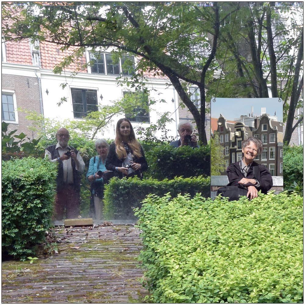Vier Foto-Communisten in Amsterdam