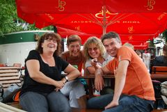 Vier gute Freunde ;-)))