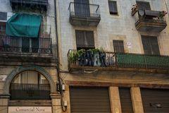 Vier Jeans in Barcelona