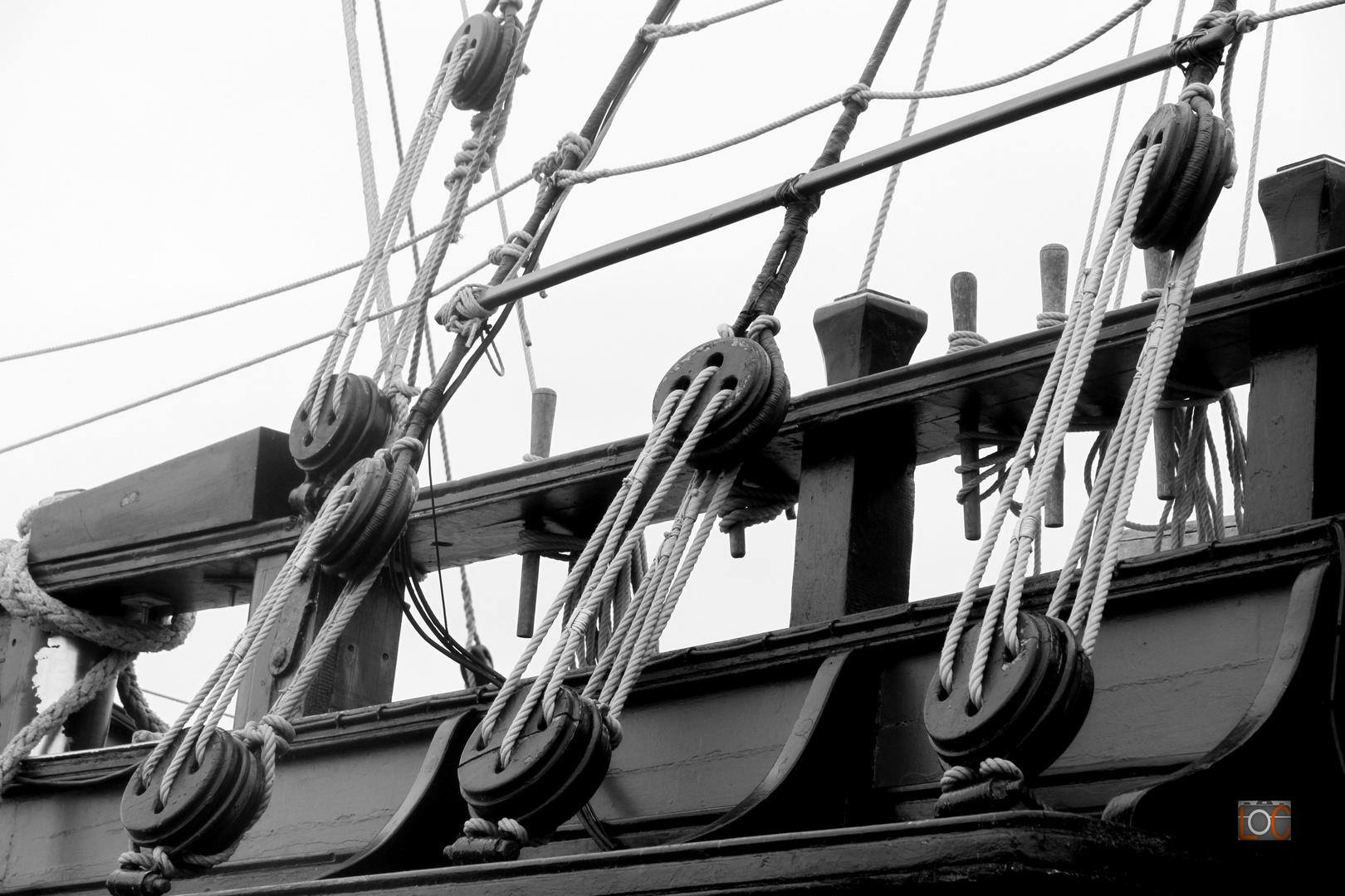 Vier Jungfrauen an Bord