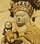 Vierge du portail royal de Tomar
