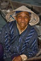 Vietnam: Ein zufriedener Blick