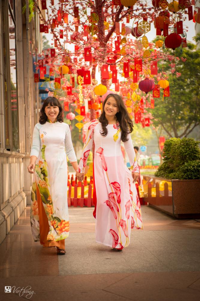 Vietnamese dresses - Ao dai #3