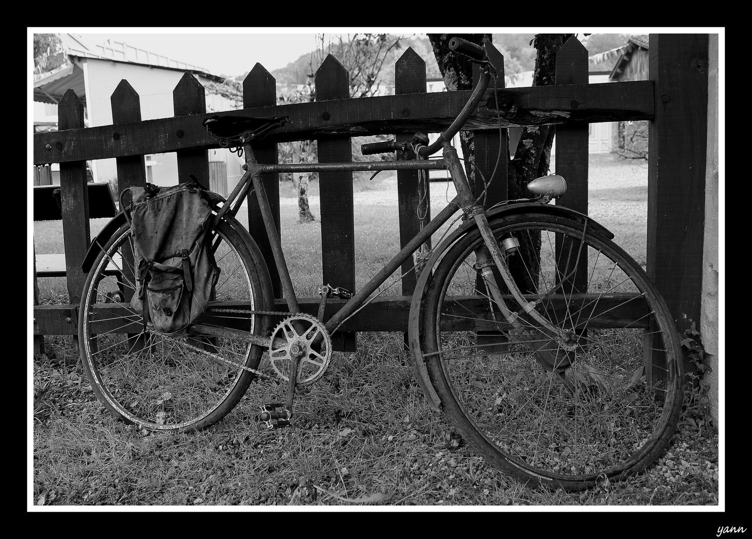 Vieux vélo....