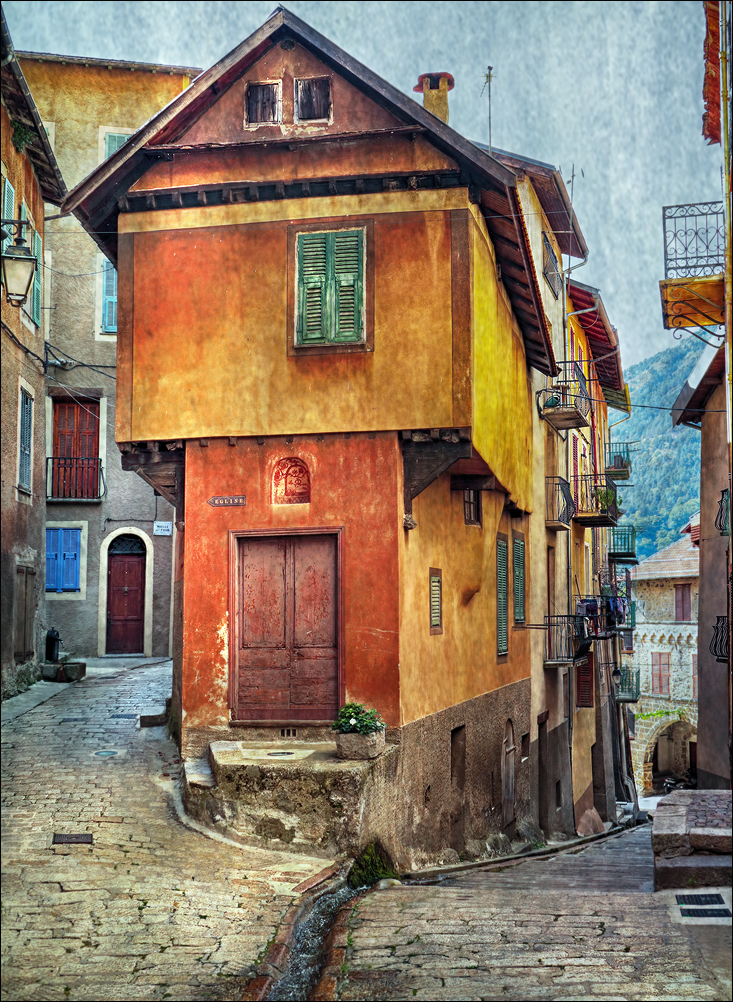 Vieux village de montagne