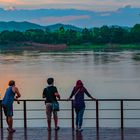 View across the Mekong river