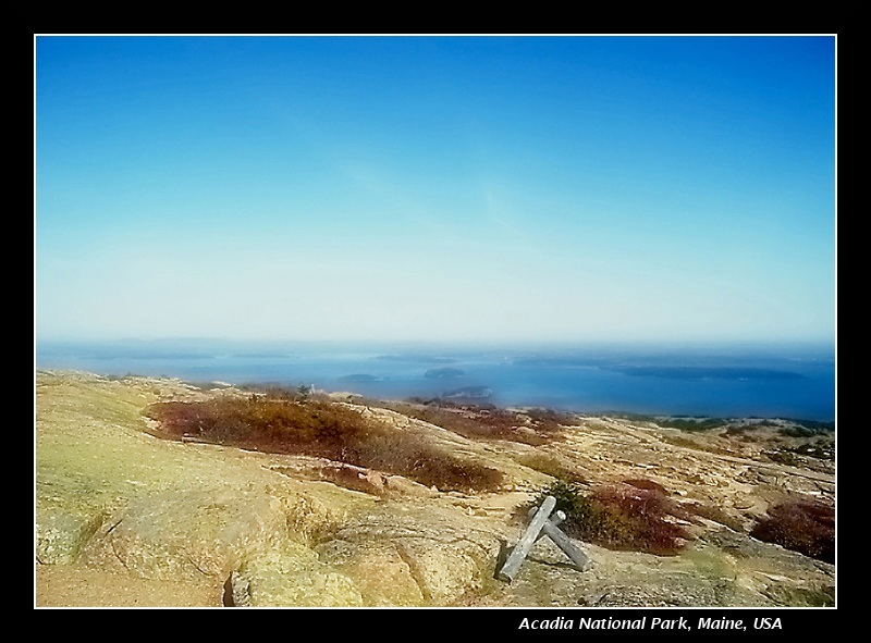 view from Acadia
