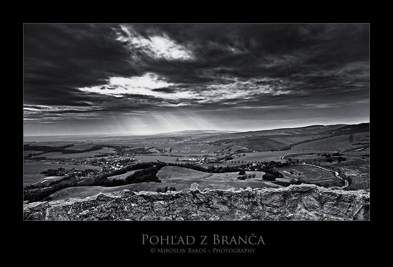 View from Branc castle :: Slovakia