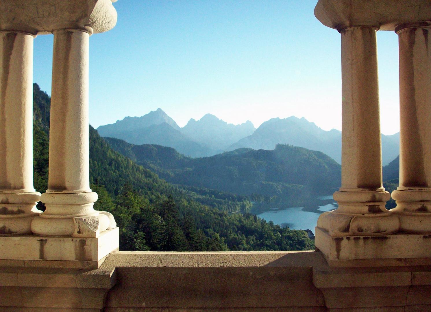 View from Castle Neuschwanstein