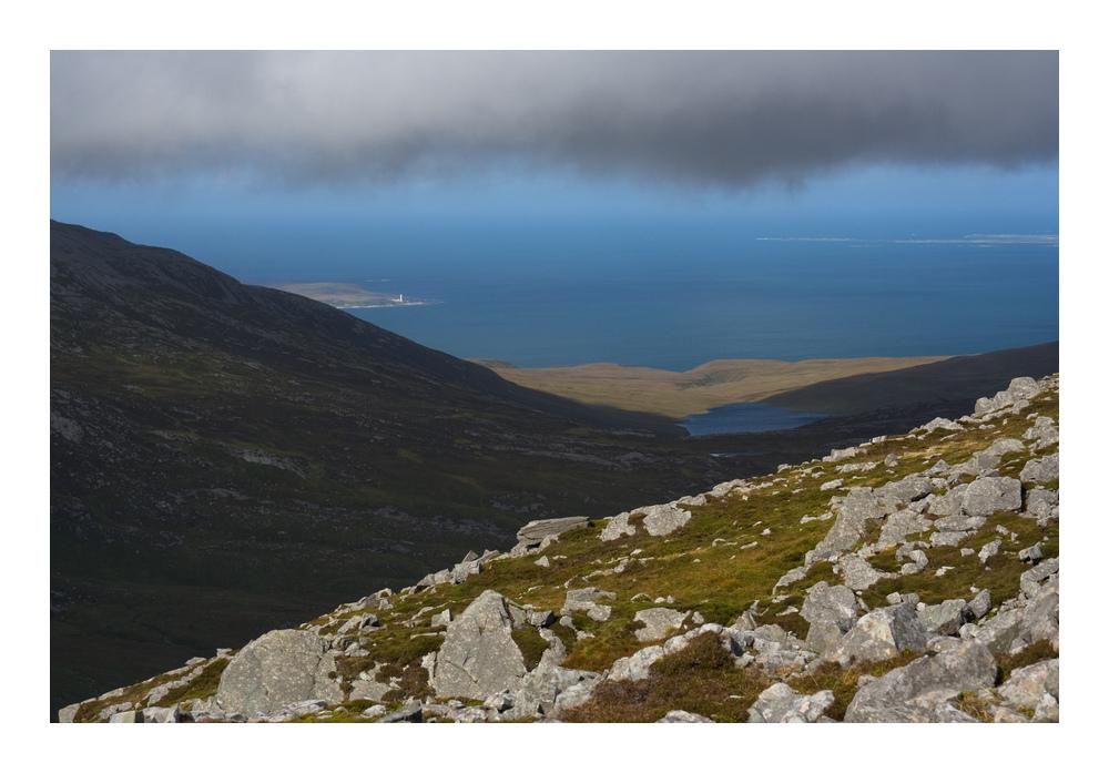 View from Corra Bheinn