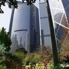 view from Hong Kong Park
