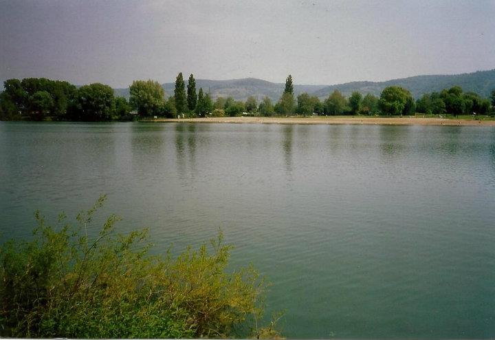 View from lake in Germany.