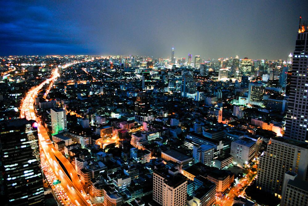 View from lebua Hotel at State Tower, Bangkok