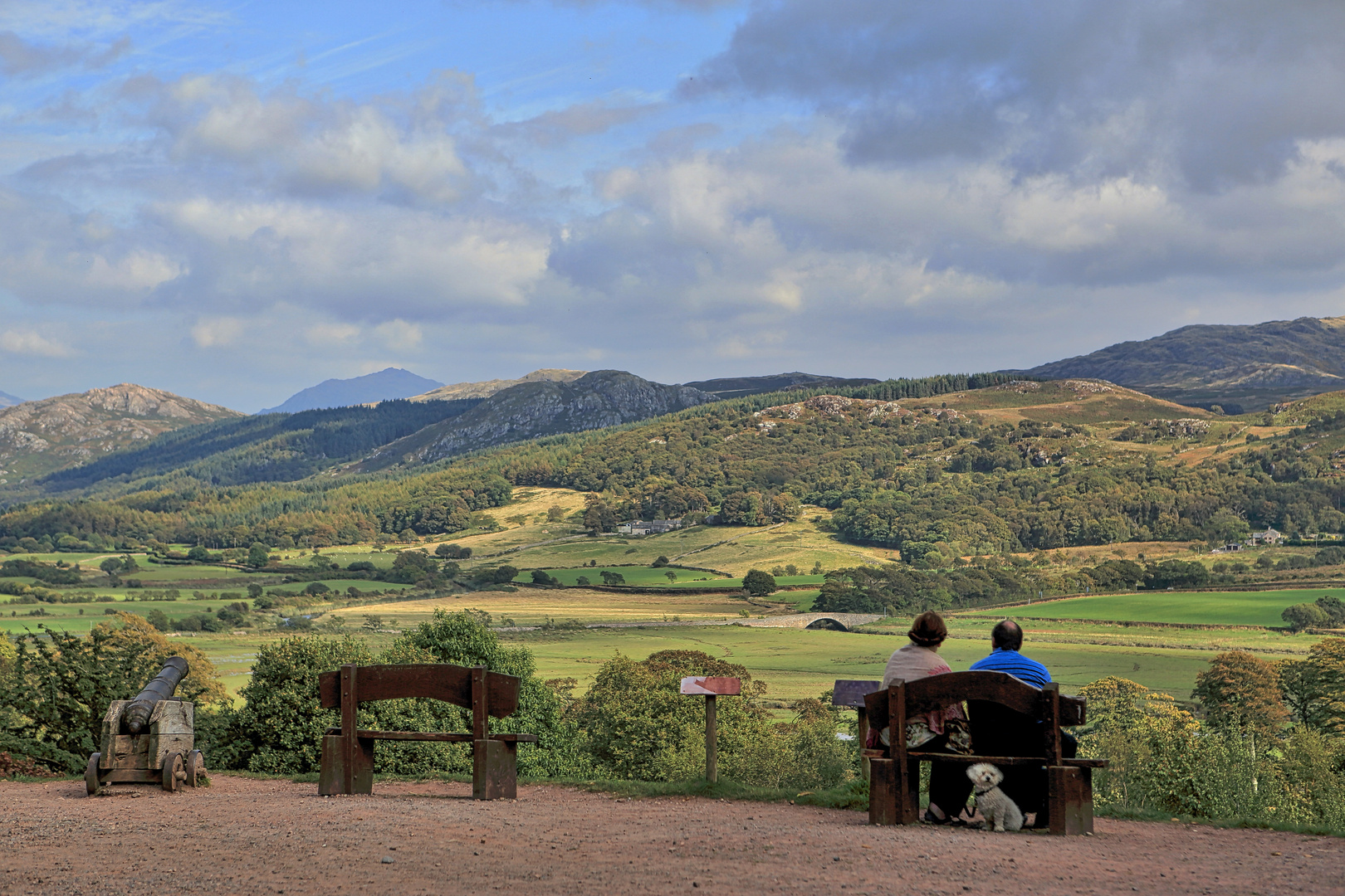 View from Muncaster Castle