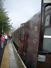 View from the Jacobite Steam Train