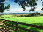 View from the Lost Gardens of Heligan to Mevagissey Bay