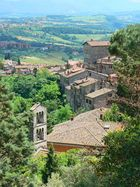 View from Todi along the Umbrian Landscape
