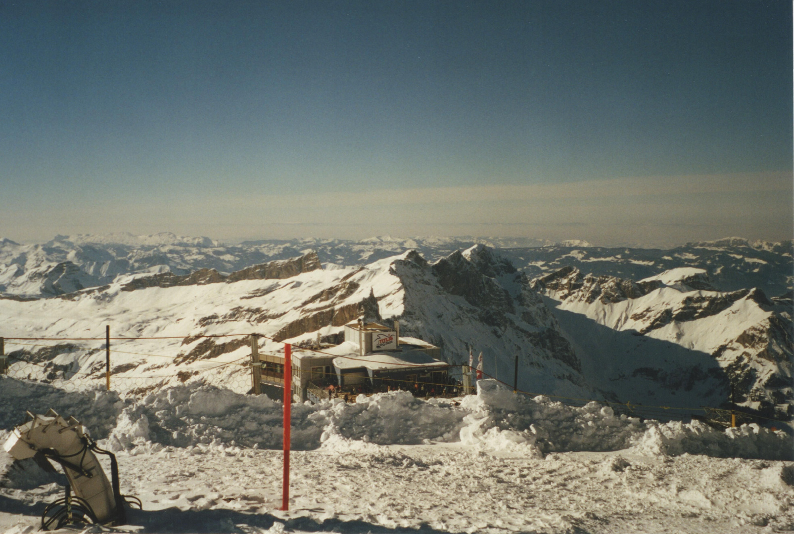 View from top of Titlis (3020 m/m)