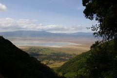 View of Ngorongoro