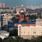 View of the Cathedral Ekaterinesky. Krasnodar/