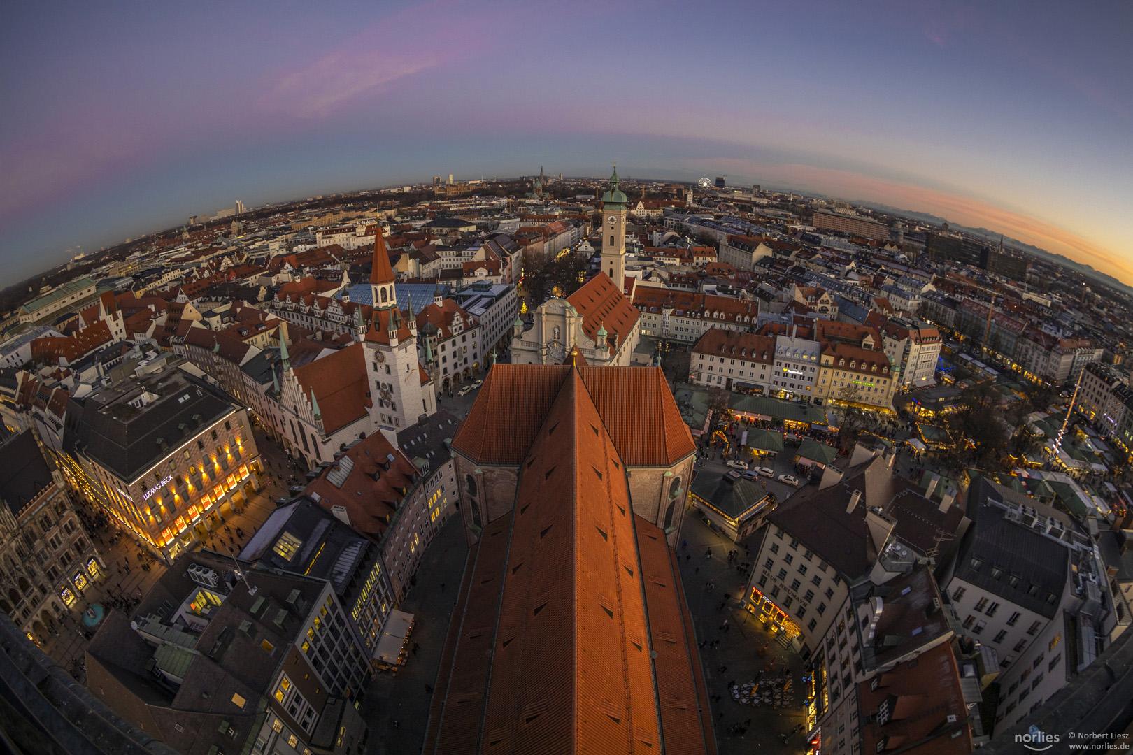 View over Munich