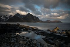 ...view over to Flakstad...