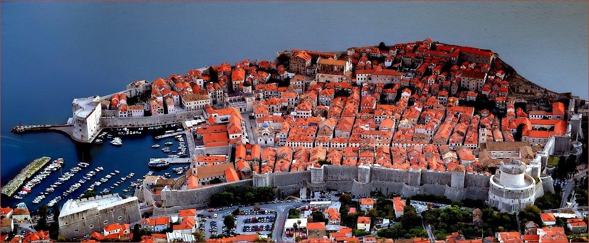 View Point Cable Car - Altstadt Dubrovnik, Kroatien
