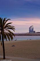 view to hotel Vela in barcelona