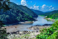 View to the Salween river
