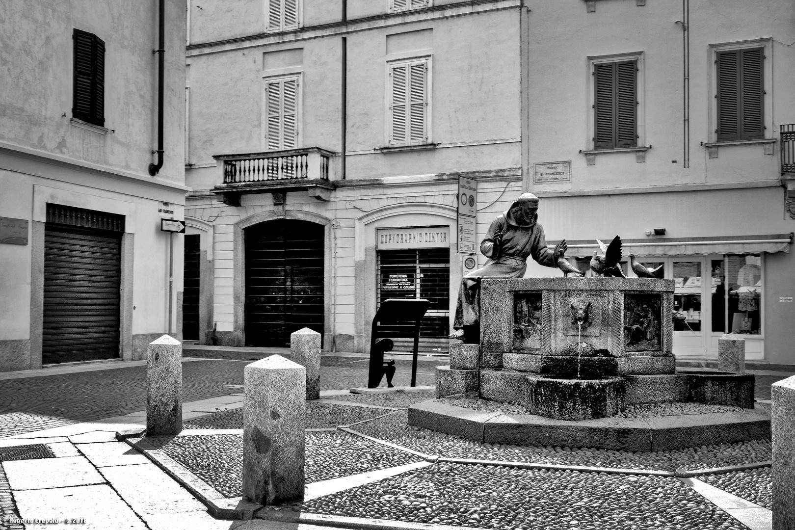 Vigevano, piazza San Francesco